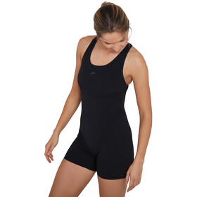 speedo Essential Endurance+ Legsuit Women black/oxid grey